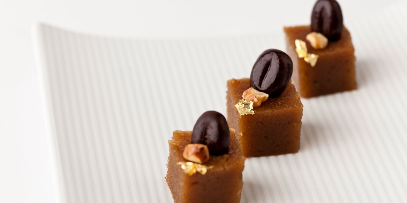 This semolina recipe from Vineet Bhatia of Rasoi fame is a bit different as the semolina is combined with coffee and walnuts to create a perfect petit four