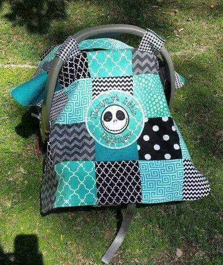 Nightmare Before Christmas Car Seat Cover