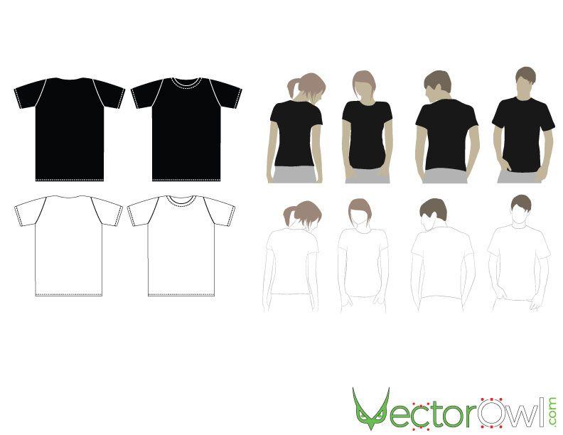 t shirt mock ups vector free vectors pinterest