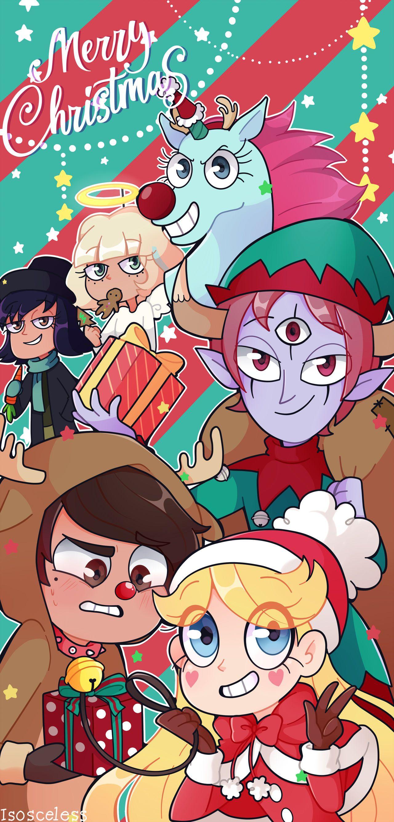 Evil Christmas Characters.Svtfoe Christmas Speedpaint By Isosceless Starco Star