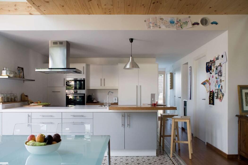 Épinglé par virginie sur cuisine Pinterest Future maison - amenager une cuisine ouverte