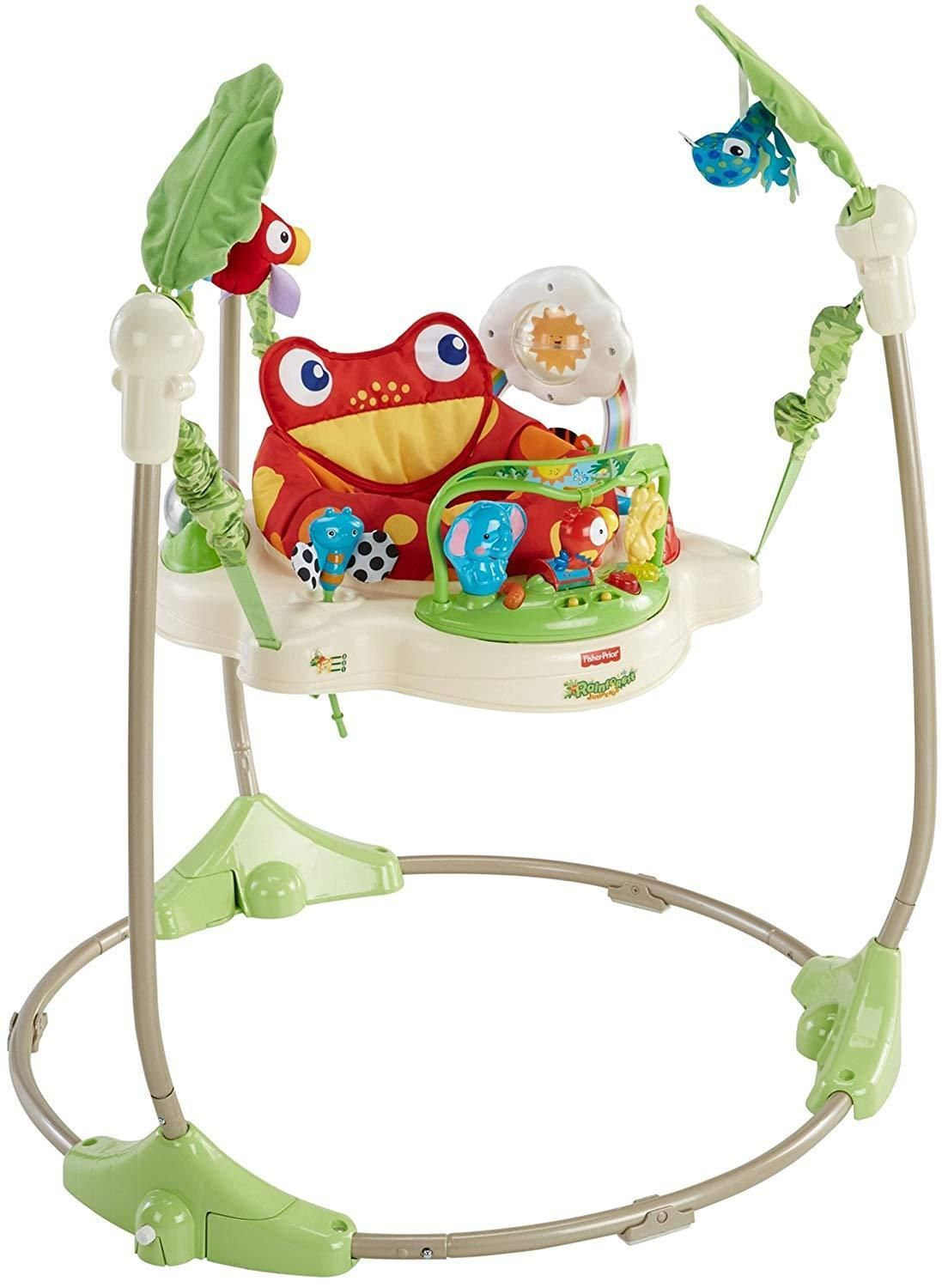 fc9c34f5f Details about Fisher Price Rainforest Jumperoo Baby Jumper Walker ...