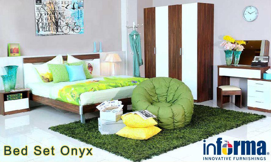 Onyx bed set | informa.co.id | Informa Bedrooms | Pinterest | Bed ...