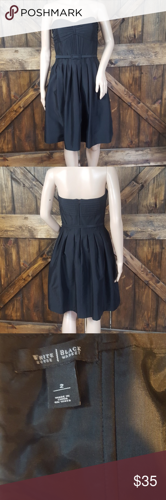 WHBM black sleeveless dress Cute little black dress, cocktail dress White House Black Market Dresses #blacksleevelessdress