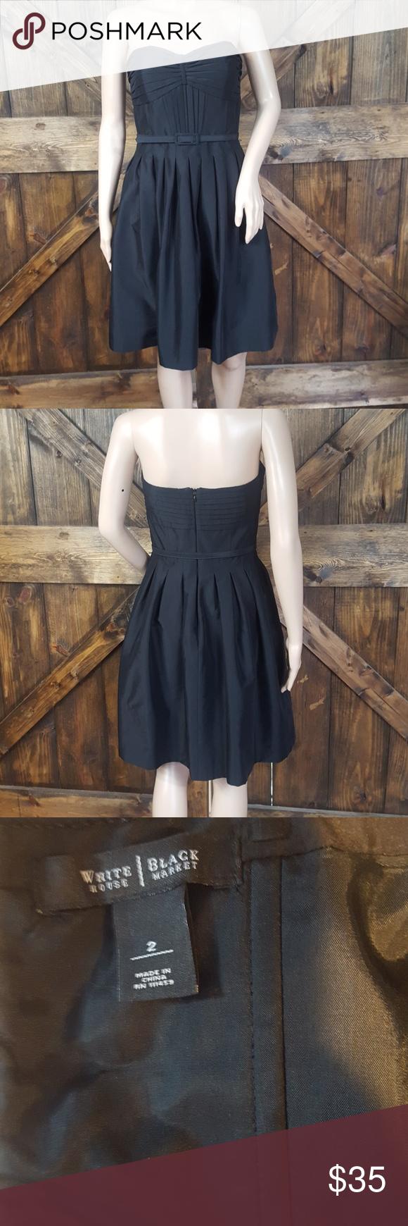 WHBM black sleeveless dress Cute little black dress, cocktail dress White House Black Market Dresses #blacksleevelessdress