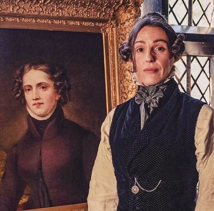 Suranne And The Actual Ms Lister Gentleman Jack Suranne Jones