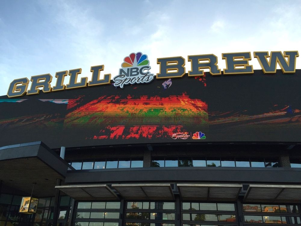 Nbc Grill Brew In Universal Citywalk Orlando Pictures Reviews And Information About