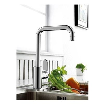American Standard Alberni Chrome 1 Handle High Arc Sink Counter Mount Traditional Kitchen Faucet Traditional Kitchen Faucets Kitchen Faucet Traditional Kitchen