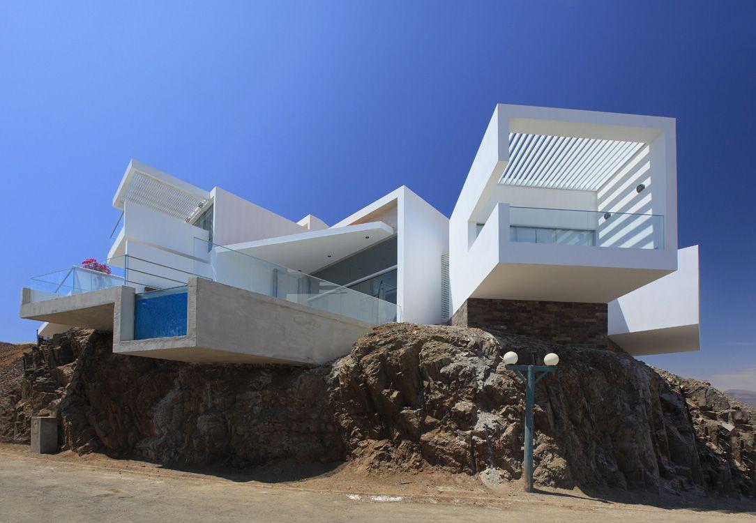 Casa playa las lomas i 5 asia lima peru v rtice for Casa minimalista lima