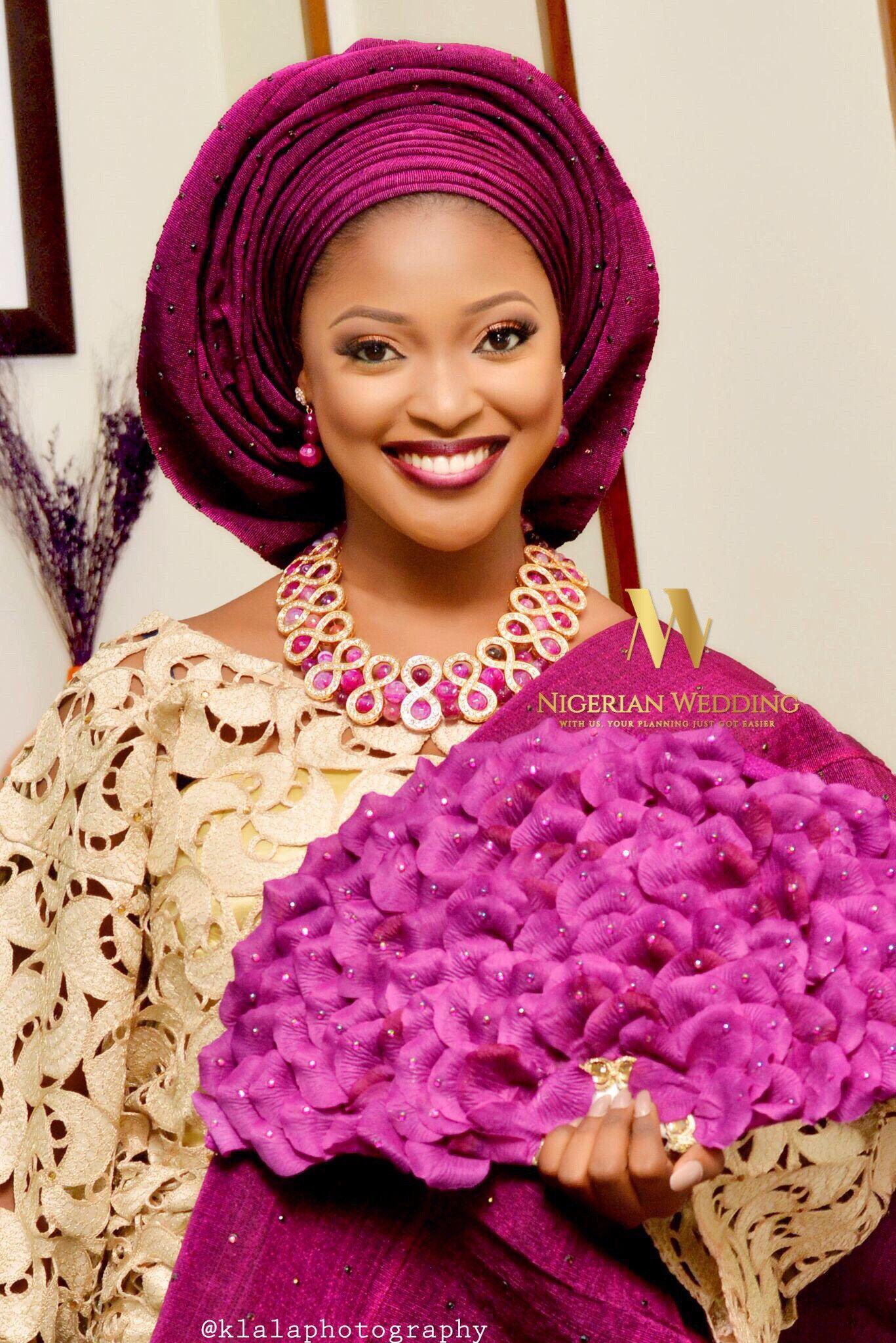 Nigerian traditional wedding decor ideas  Tomilola u Ademolaus Gorgeous Wedding Portraits  Klala Photography