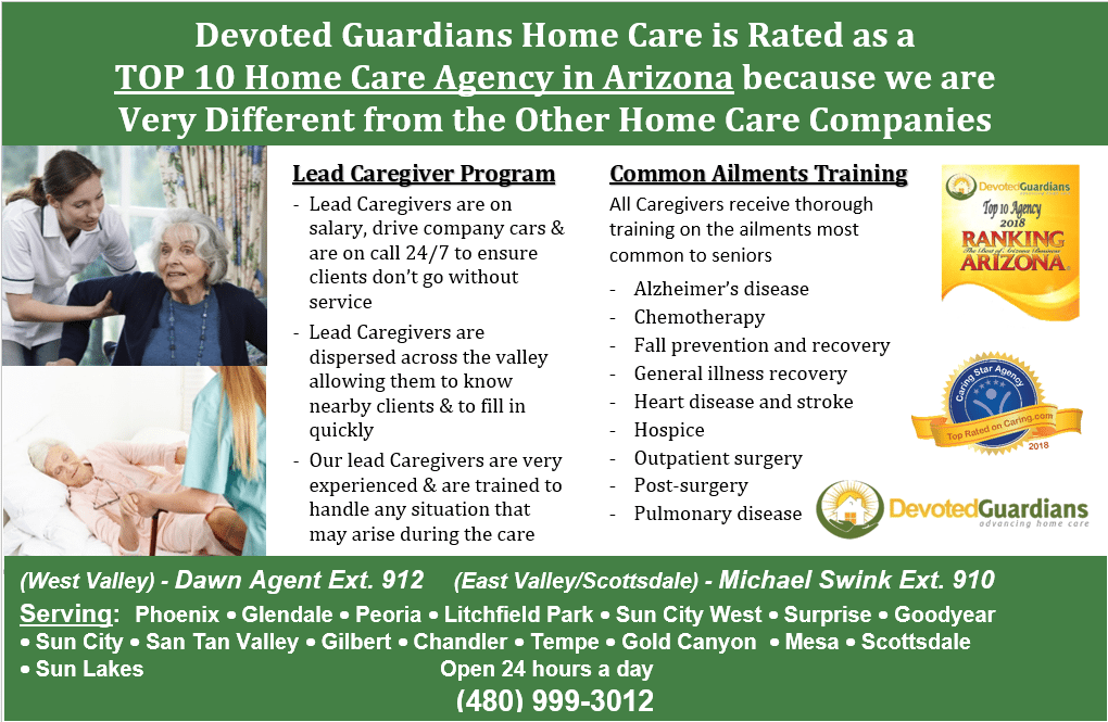 Home Health Care Phoenix AZ-Devoted Guardians Home Care is ...
