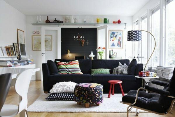 modernes Wohnzimmer-skandinavischer Stil Wohnzimmer Pinterest - wohnzimmer skandinavischer stil