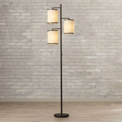 Youll love the baysinger 3 light 74 floor lamp at wayfair great