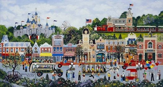 Disney-Main Street, USA - Jane Wooster Scott