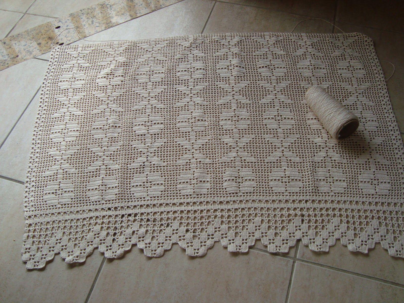 Cortinas De Croche Barbante Com Graficos Pesquisa Google