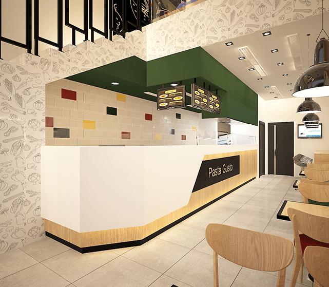 تصميم داخلي لمطعم اسم المشروع باستا قوستوالموقع جدةالفئة تجارينطاق العمل تصميم داخلي Home Decor Home Decor
