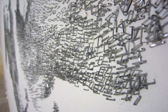 Large Scale Wall Art Using Only Staples & Large Scale Wall Art Using Only Staples | Its a mess its fantastic ...