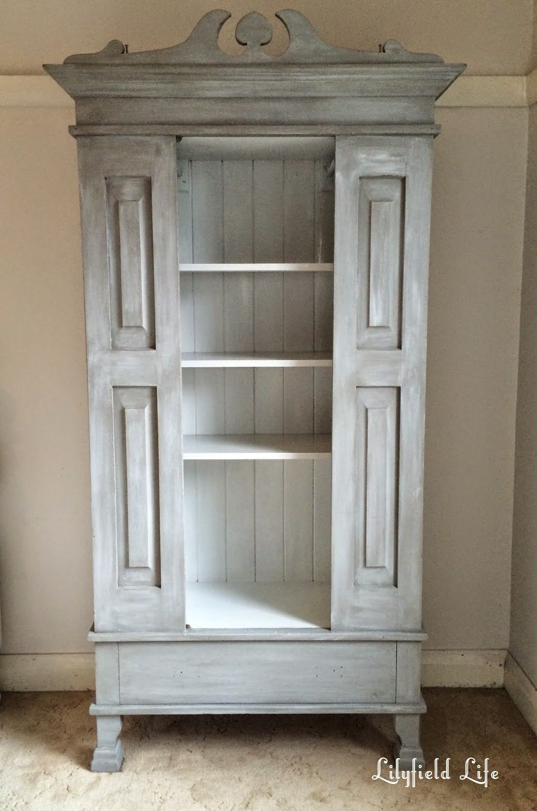 Lilyfield life restoration hardware look cupboard - Restoration hardware cabinets ...