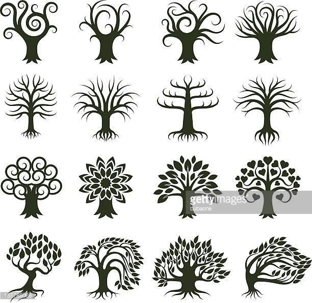 Image Result For Willow Tree Icon Art Tree Art Green Trees