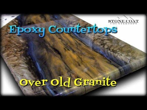 Epoxy Countertops Over Old Granite Diy Countertops