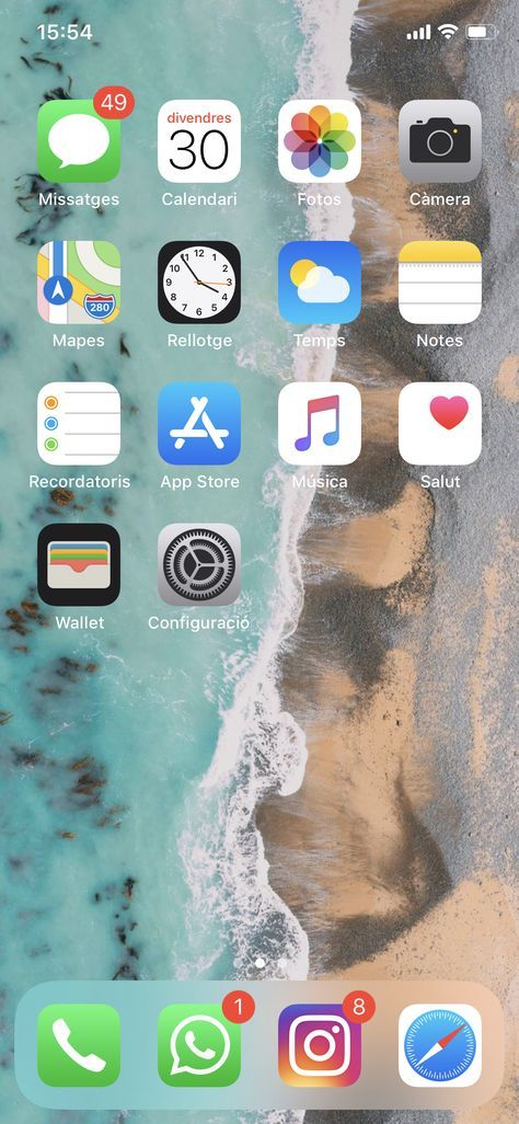 Home Screen Iphone Design Wallpapers 27+ Ideas