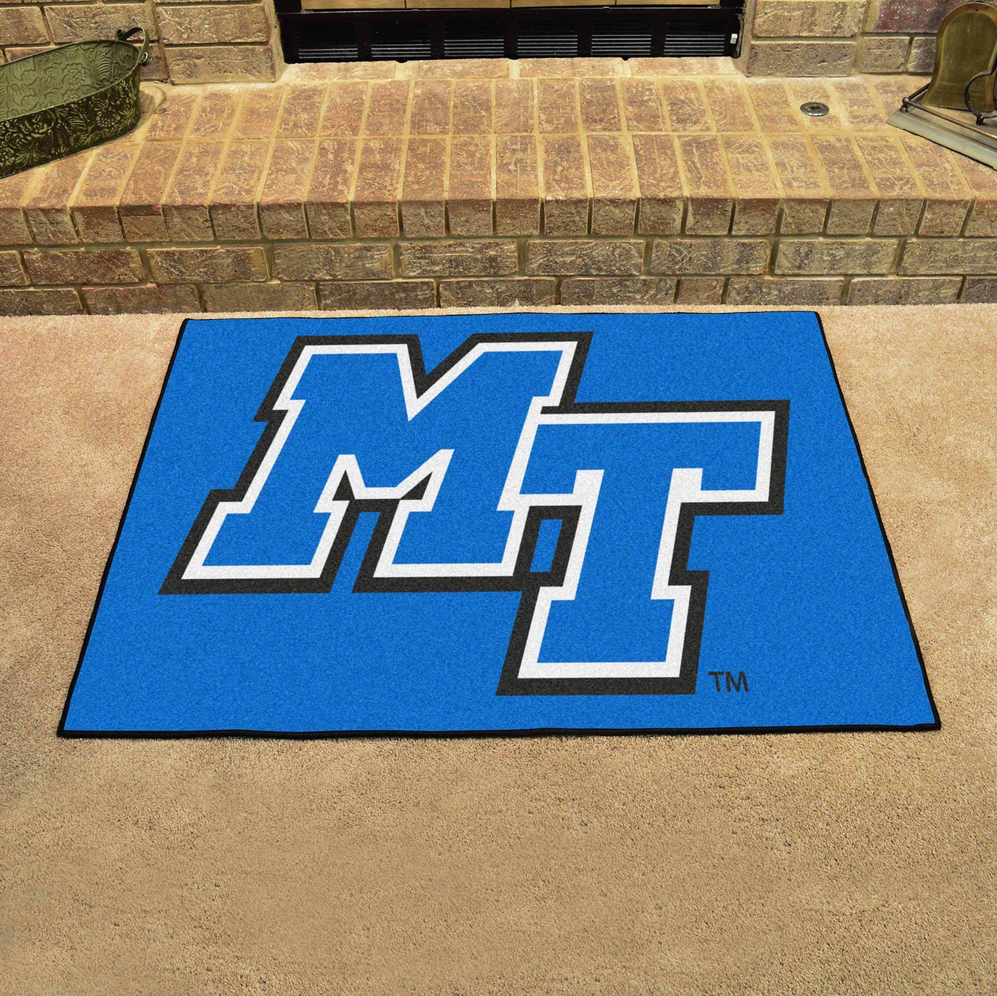 Middle Tennessee State All Star Mat 33 75 X42 5 Floor Rugs University Of Kentucky Kentucky