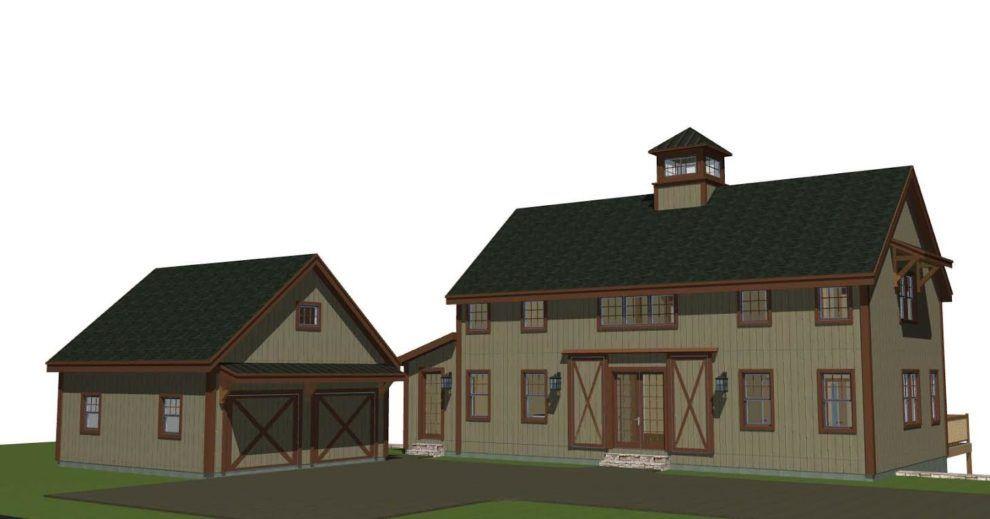 Barn House Plans 2 0 The Tullymore Barn Barn House Barn Style House Barn House Plans