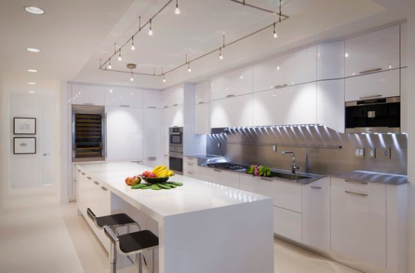 Led Kitchen Track Lighting: 17 Best images about Track Lighting on Pinterest | Modern white kitchens,  Spotlight and Plywood ceiling,Lighting