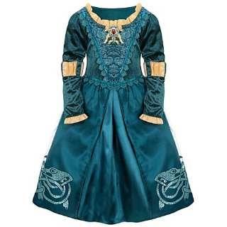 Disfraz Brave Disney Store Vestido Princesa Merida Dpa En