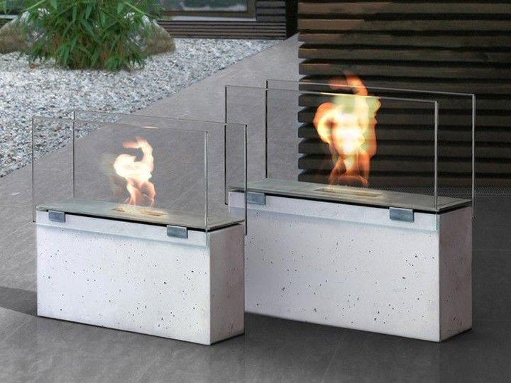 MURO Bioethanol Feuerstelle In- & Outdoor klein Conmoto   Grill und ...