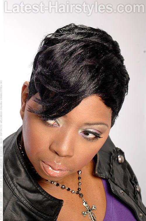 Brilliant 1000 Images About Hair On Pinterest Black Hairstyles Black Short Hairstyles Gunalazisus