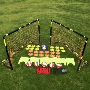 Soccer Equipment Latest Equipment Set Features Two 4x6 Flip Goals Futbol