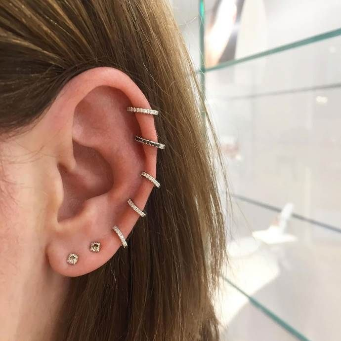 A Guide To Different Ear Piercings Jewelry Ear Piercings