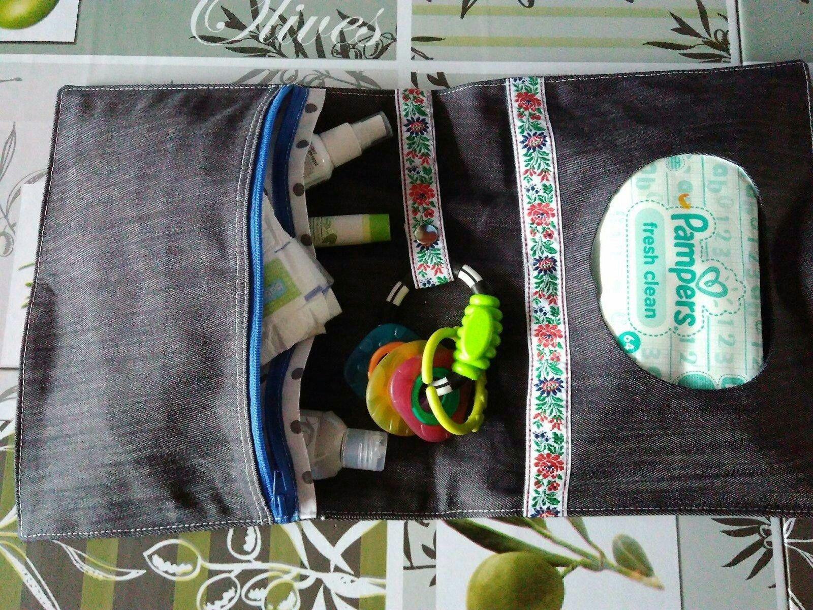 08b90f671fcd Handmade organizér na plienky.