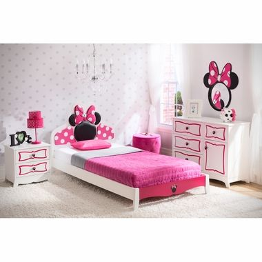 Delta Children Minnie Mouse Twin Room Collection in 2018 home