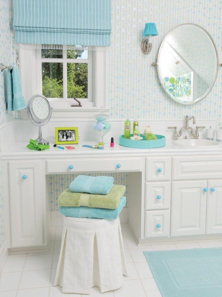 Tween Bathroom Ideas #LongBathroomVanity | Long Bathroom Vanity ...