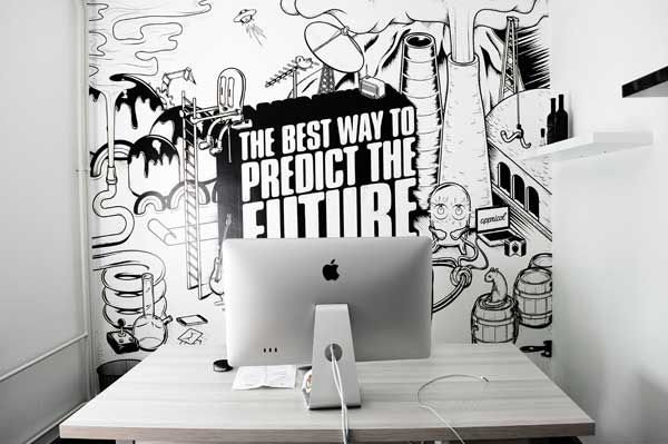 Cool Wall Design cool wall | _doodle art | pinterest | vinyls, wallpapers  and design