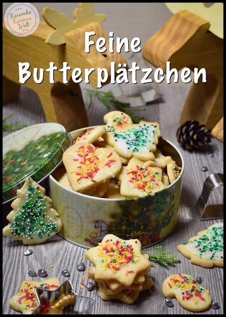 Rezept für feine Butterplätzchen