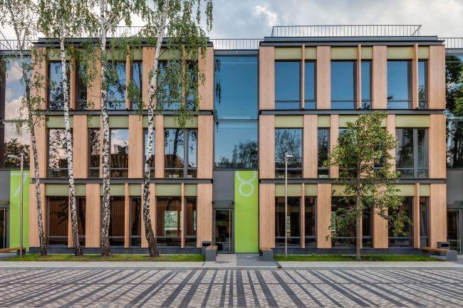 Бизнес-парк в Научном проезде. Реализация, 2013. Фотография © Мастерская ADM / Анатолий Шостак