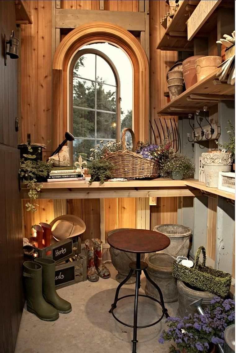 Fabriquer un rangement et abri de jardin en bois pour - Fabriquer un abris de jardin en bois ...
