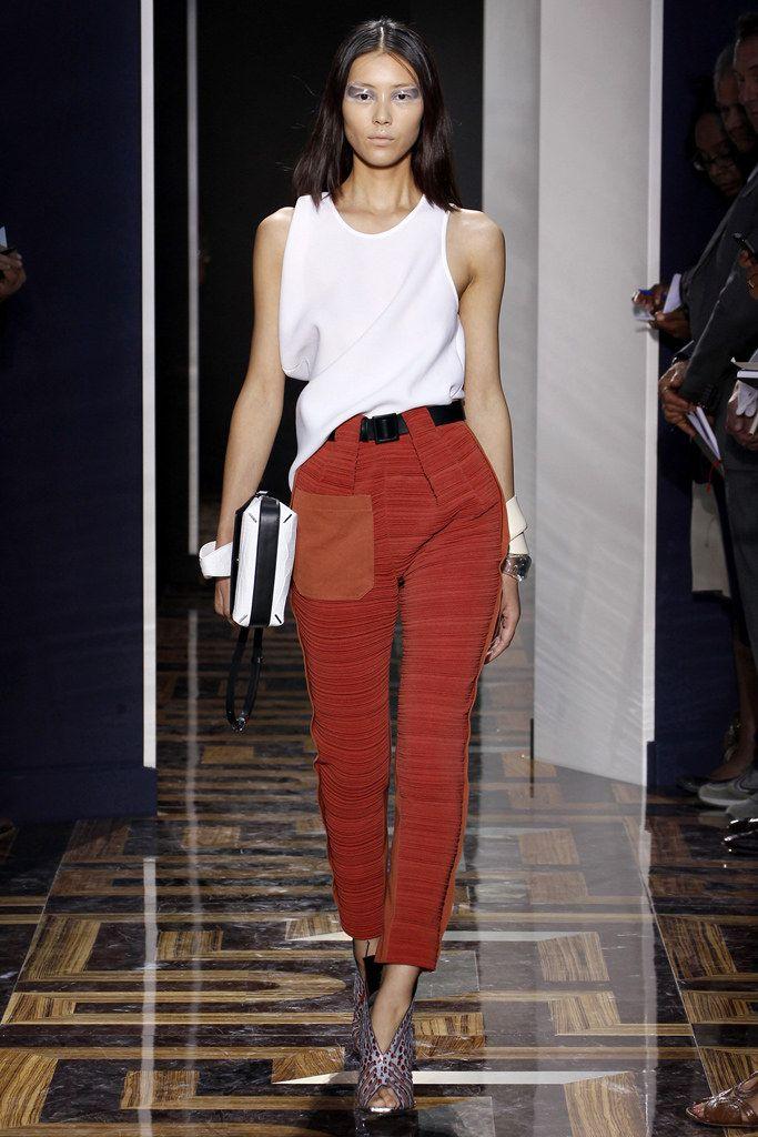 0d94976b2237c Balenciaga Spring 2012 Ready-to-Wear Fashion Show - Liu Wen (Elite)