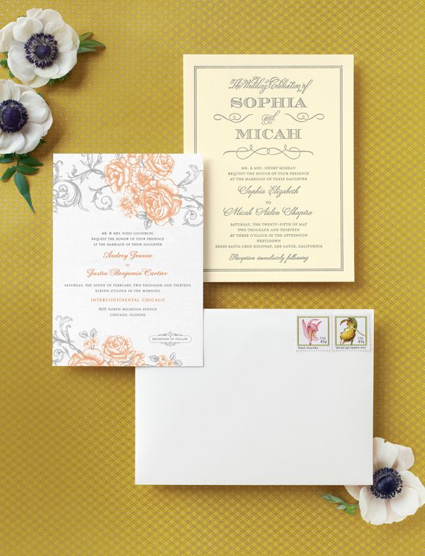 Stylish Wedding Invitations From Wedding Paper Divas Snippet Ink Stylish Wedding Invitation Wedding Paper Divas Floral Wedding Invitations