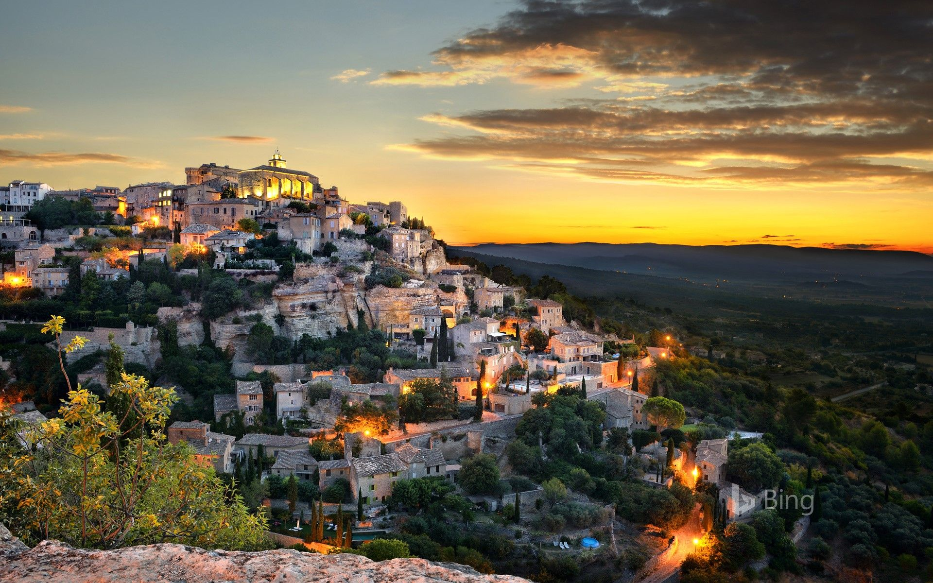 Village of Gordes Provence Alpes C´te d Azur France