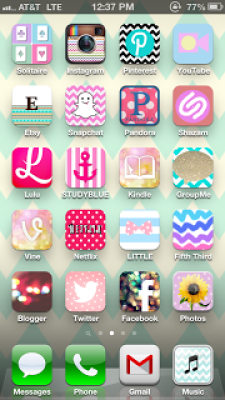 iPhone Makeover Tutorial - Get Preppy Icons for your iPhone
