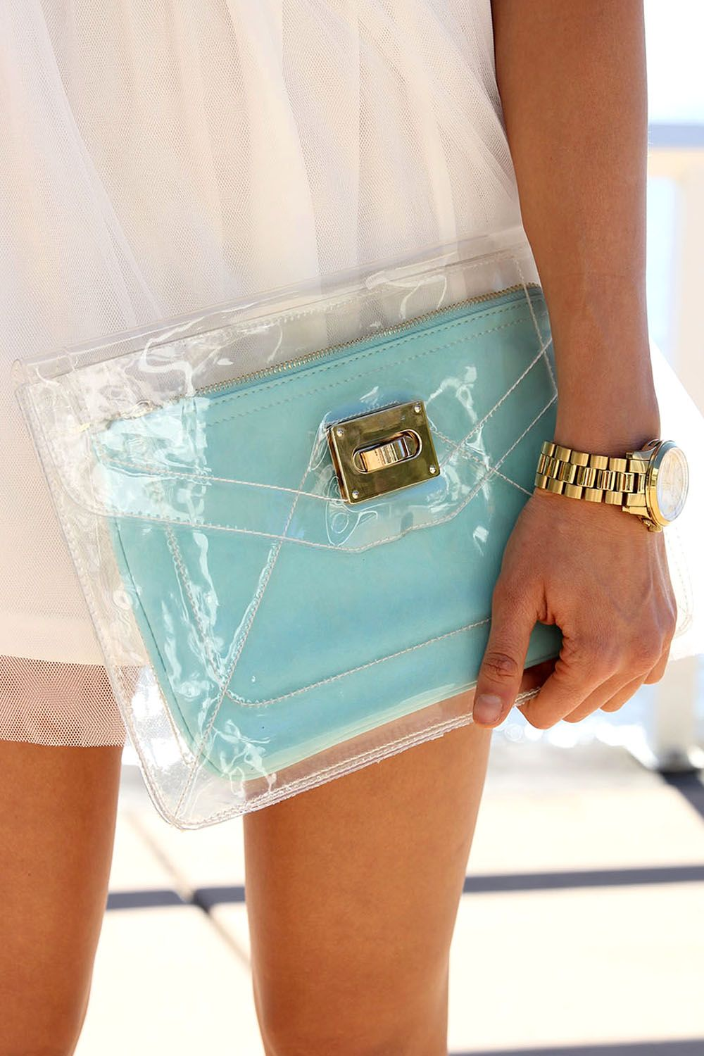 Mint Clearing Clutch