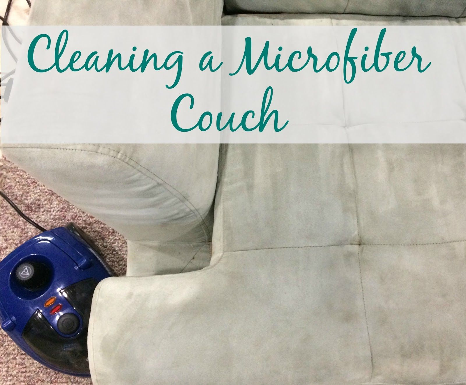 Don't Throw Out That Stained Microfiber Couch;