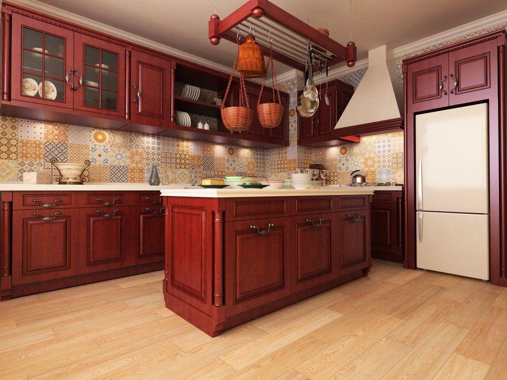 Imagen de pisos y azulejos deCocinas  Cocina Decoracin