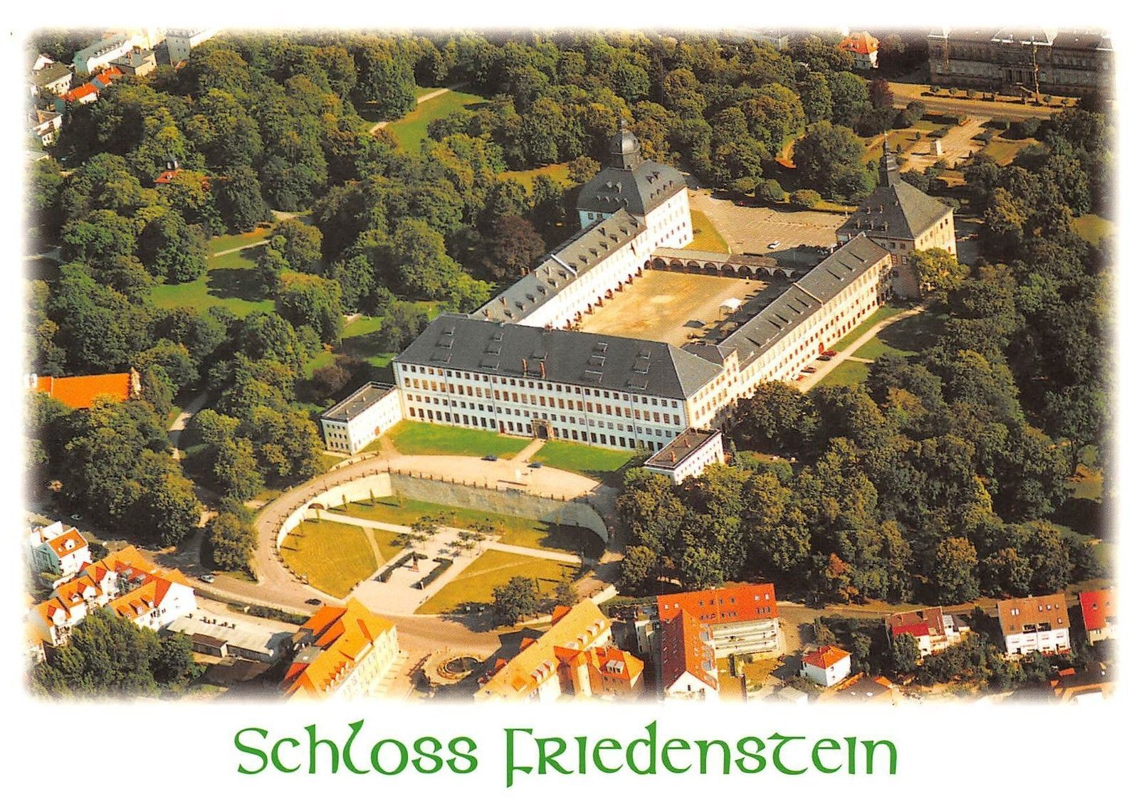 Schloss Friedenstein Air view castle chateau | eBay