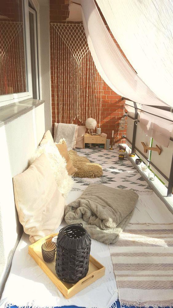 24 Küken und stilvolle Wohnung Balkon Ideen - Notatnik Kreatywny #balcony