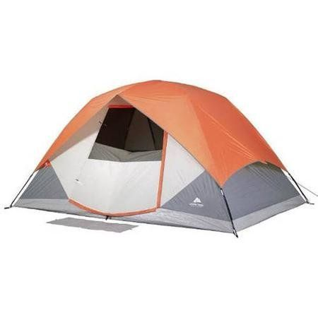 Ozark Trail Dome Tent Sleeps 6 Person 12 x 8 With Roll Back Fly and Windows C&ing Outdoor -- Check out the image by visiting the link.  sc 1 st  Pinterest & Ozark Trail 12u0027 x 8u0027 Dome Tent Sleeps 6 Ozark Trail https://www ...